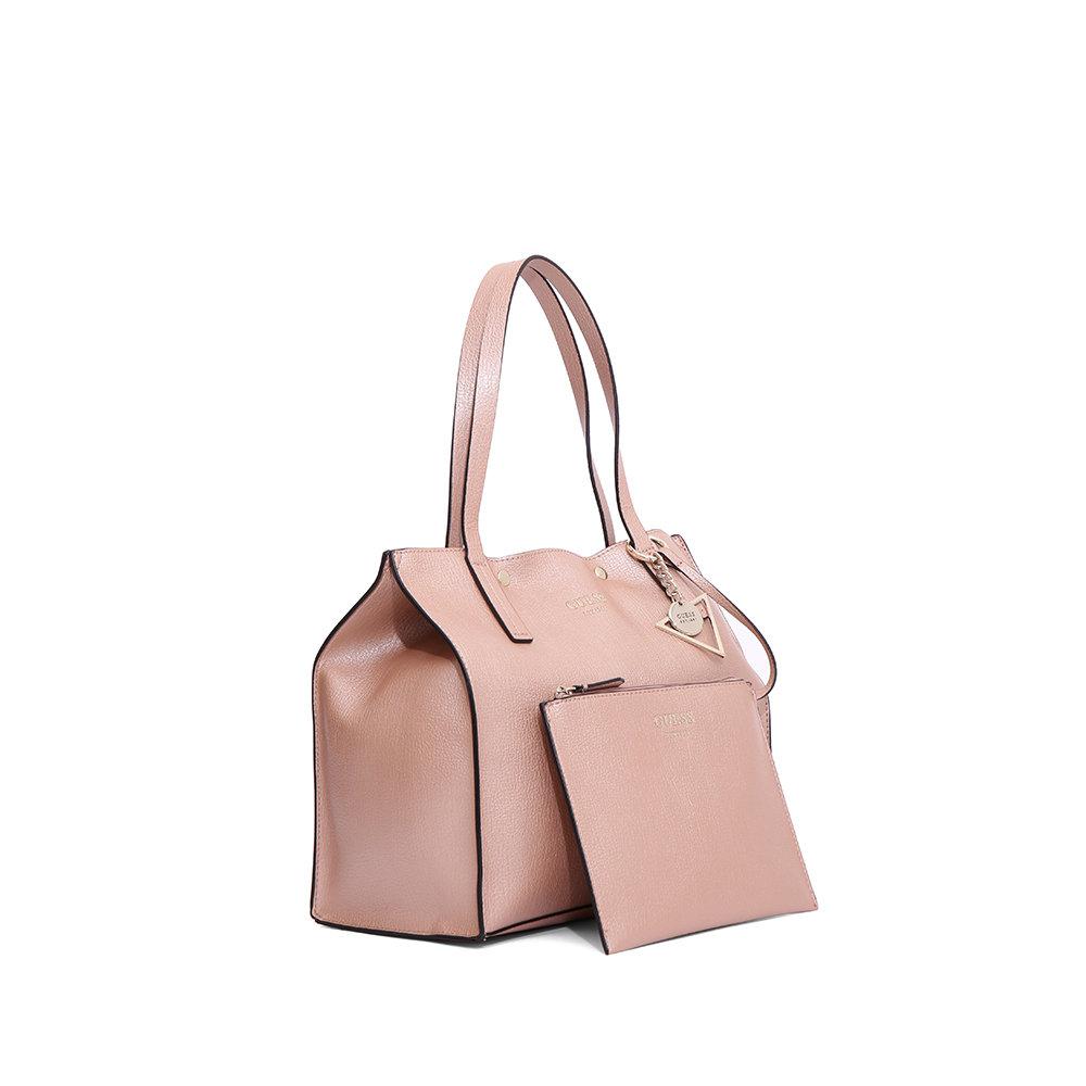 Borsa a spalla rosa metallizzato Guess Borse Acquista su Ventis.