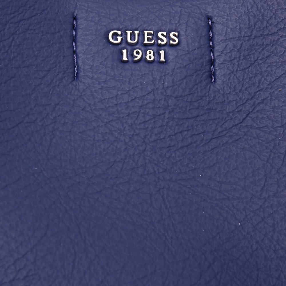 Borsa a spalla simil pelle blu Guess Borse Acquista su Ventis.
