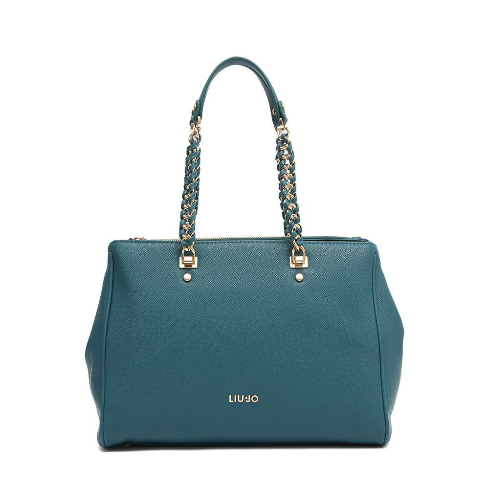 2f525d965e Shopping bag verde petrolio - Liu Jo Borse - Acquista su Ventis.