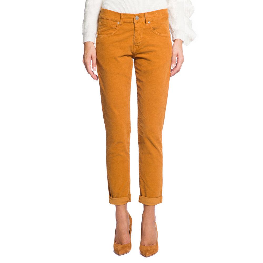 Pantaloni in velluto ocra - Pinko Selection - Acquista su Ventis. dda195f903a