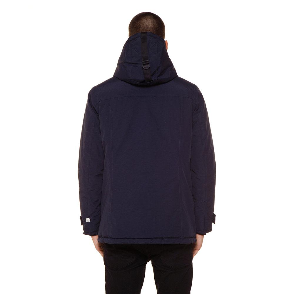 giubbino a giacca refrigue blu tessuto elasticizzato