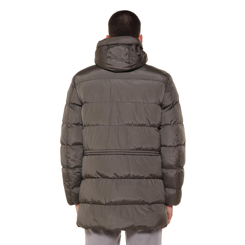 Verde Abbigliamento Acquista Scuro Giubbotto Geox Cappuccio Con aHTzv