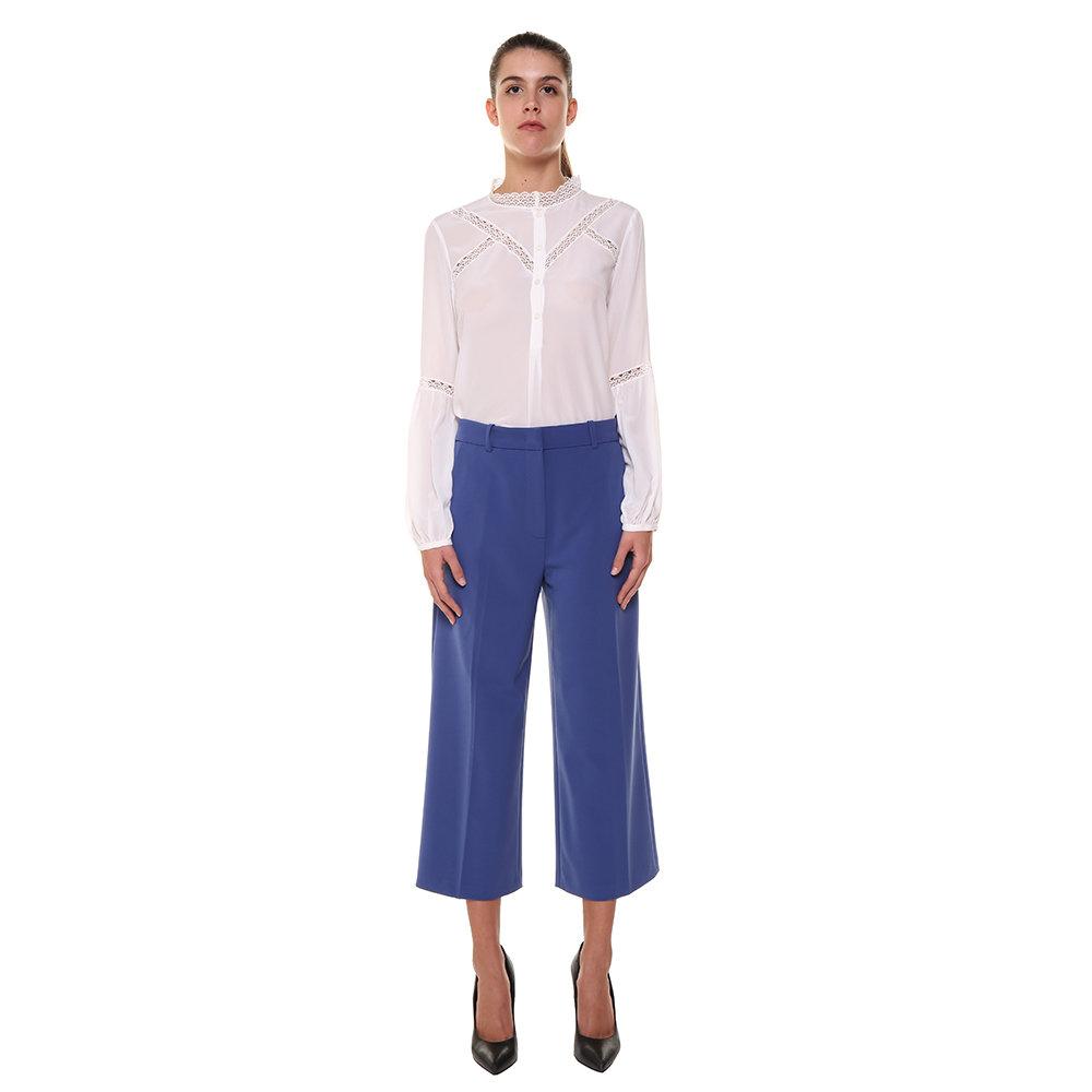 huge discount c4e09 c06b1 Blusa in seta bianca - Pinko A/I - Acquista su Ventis.