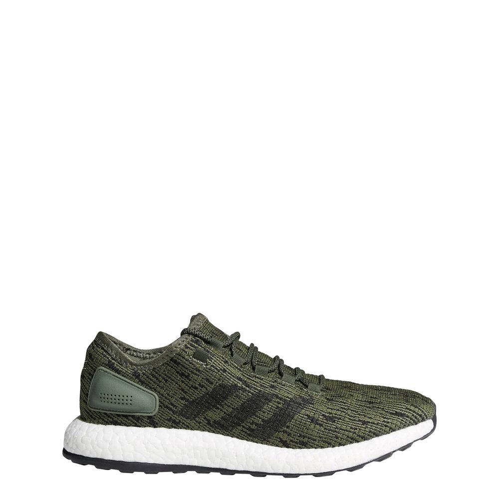 Sneakers Adidas Pureboost verde militare Adidas Selection