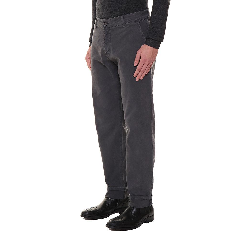 Pantaloni modello chino grigio fumo Liu Jo Uomo AI Acquista su Ventis.