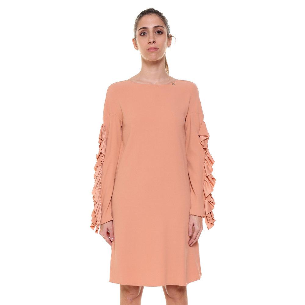 wholesale dealer 487ad 41e44 Abito corto rosa pesca - Liu Jo Donna A/I - Acquista su Ventis.