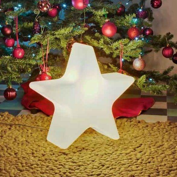 Stella Di Natale Luce.Lampada Stella Di Natale Luce Multicolor Rgb Design Che Stupisce