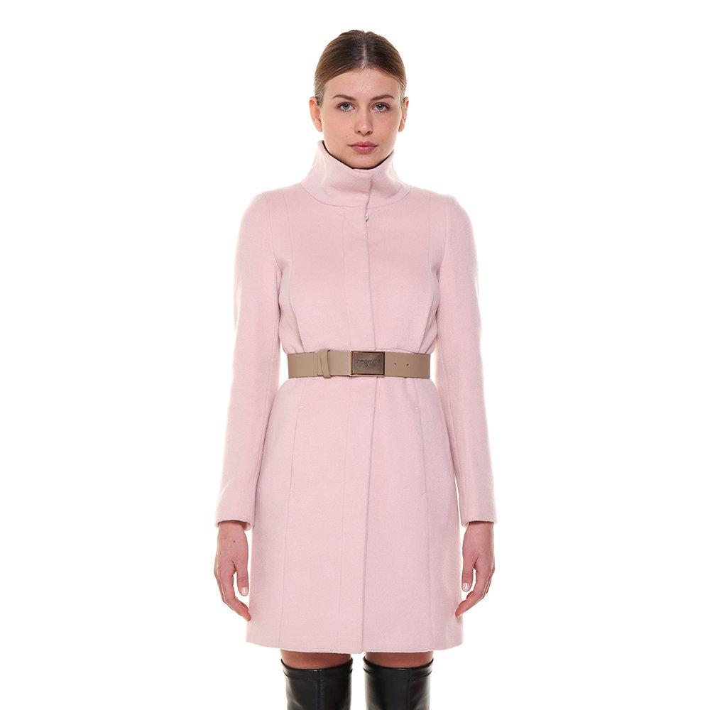 check out e0ae1 9d9e7 Cappotto sagomato in lana rosa - Patrizia Pepe - Acquista su Ventis.