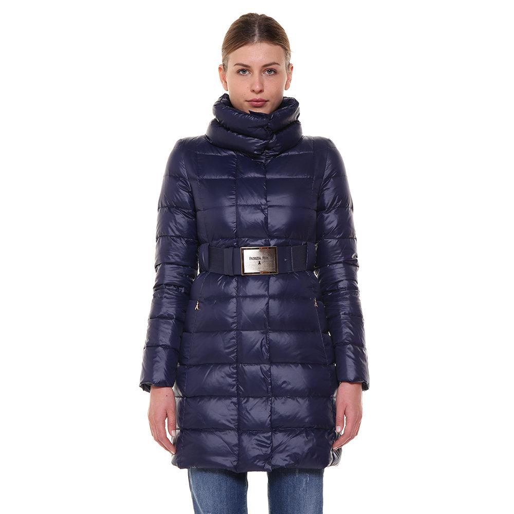 low priced 61893 981d7 Cappotto piumino lungo blu notte - Patrizia Pepe - Acquista su Ventis.