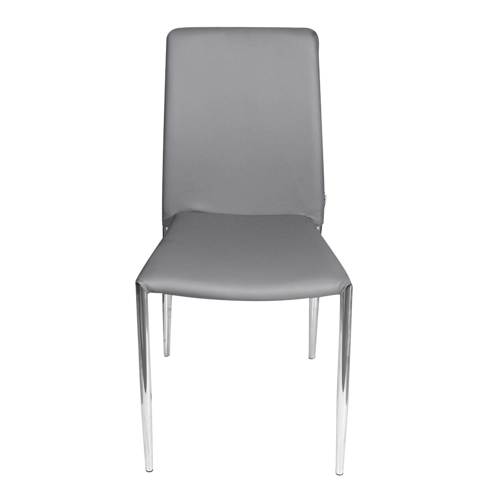 Set 2 sedie da pranzo dallas unico milano design for Sedie da ufficio milano