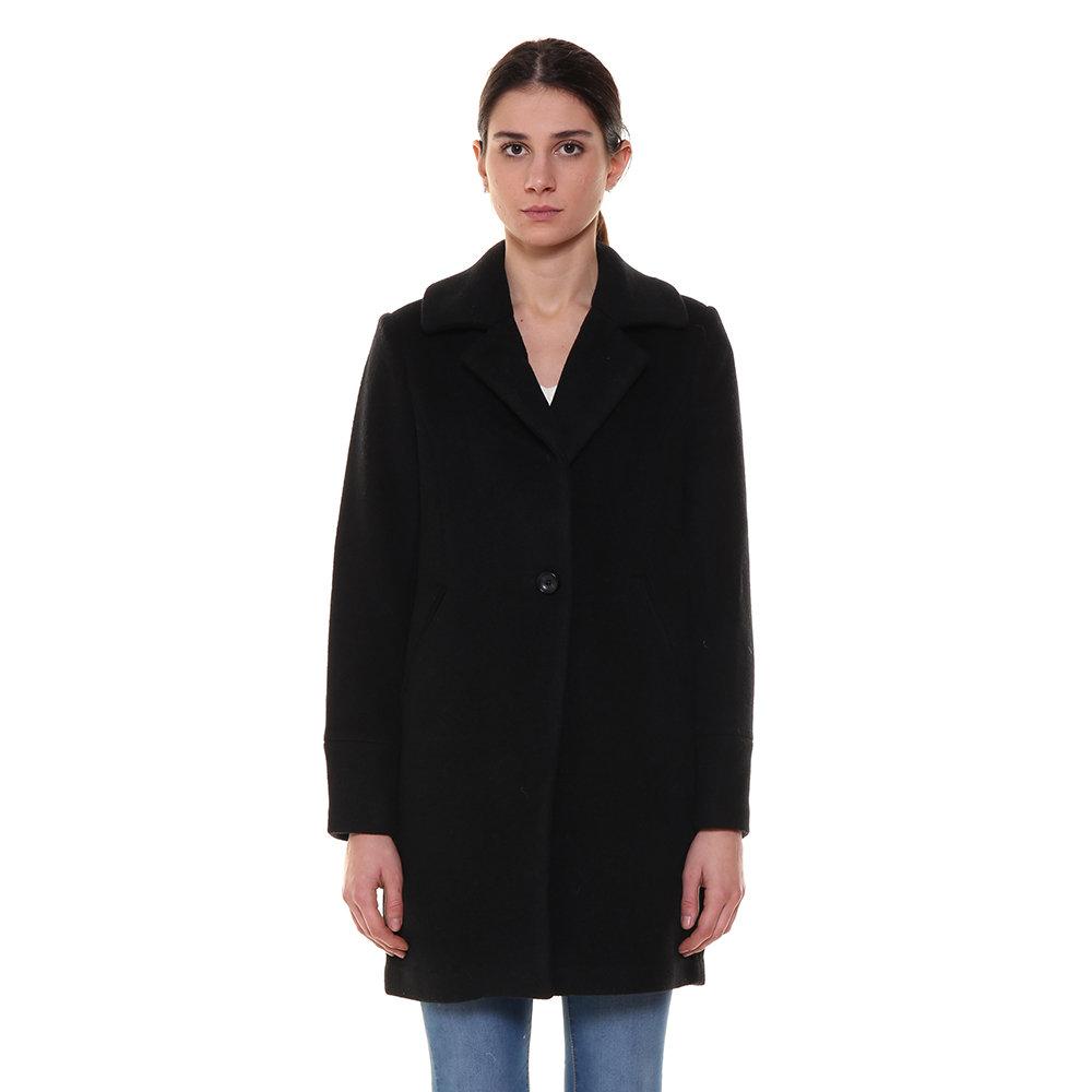 7b715d6e58 Cappotto taglio maschile nero - Silvian Heach A/I - Acquista su Ventis.