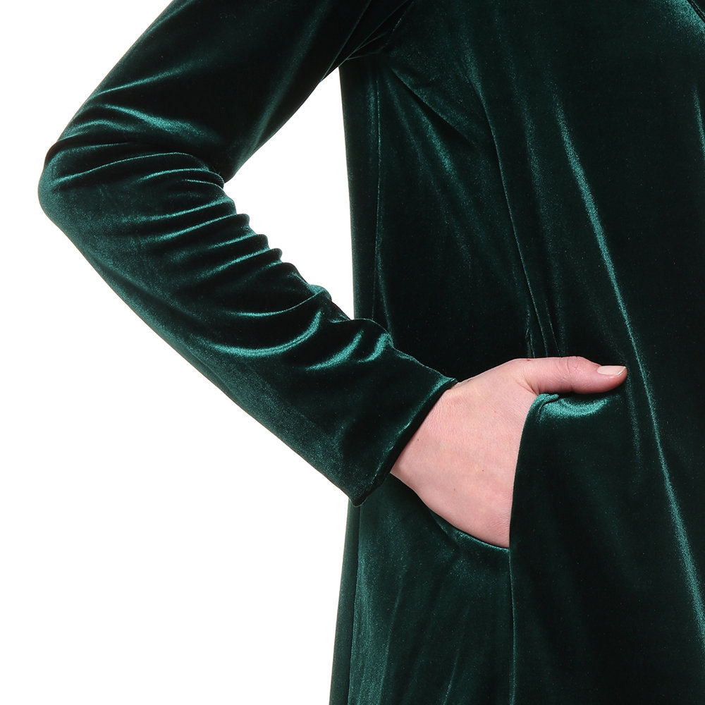 Giacca effetto velluto verde sandro ferrone acquista for Interno 95
