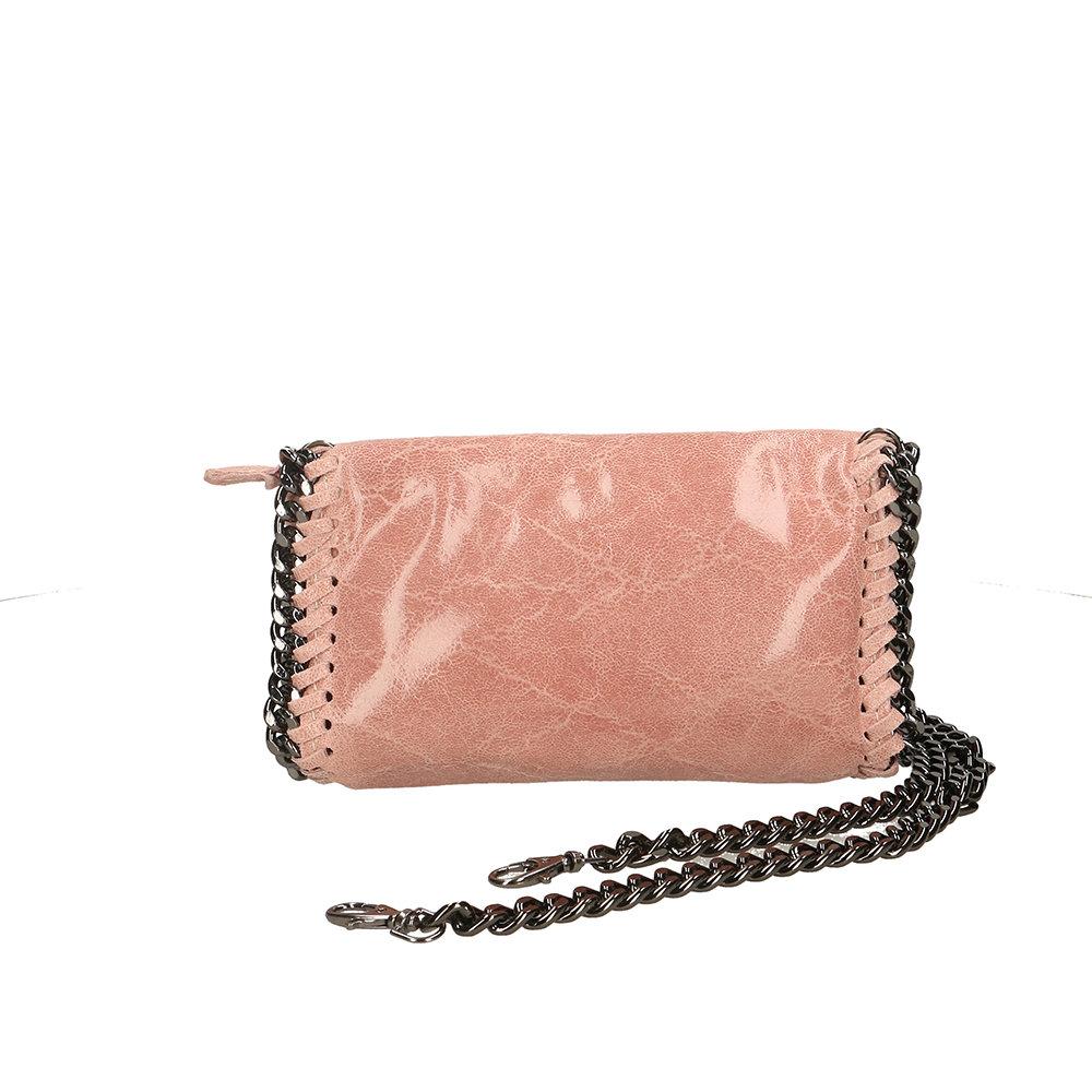 5623f89d9f Borsa a tracolla con catena rosa - Antichi Forzieri - Acquista su ...