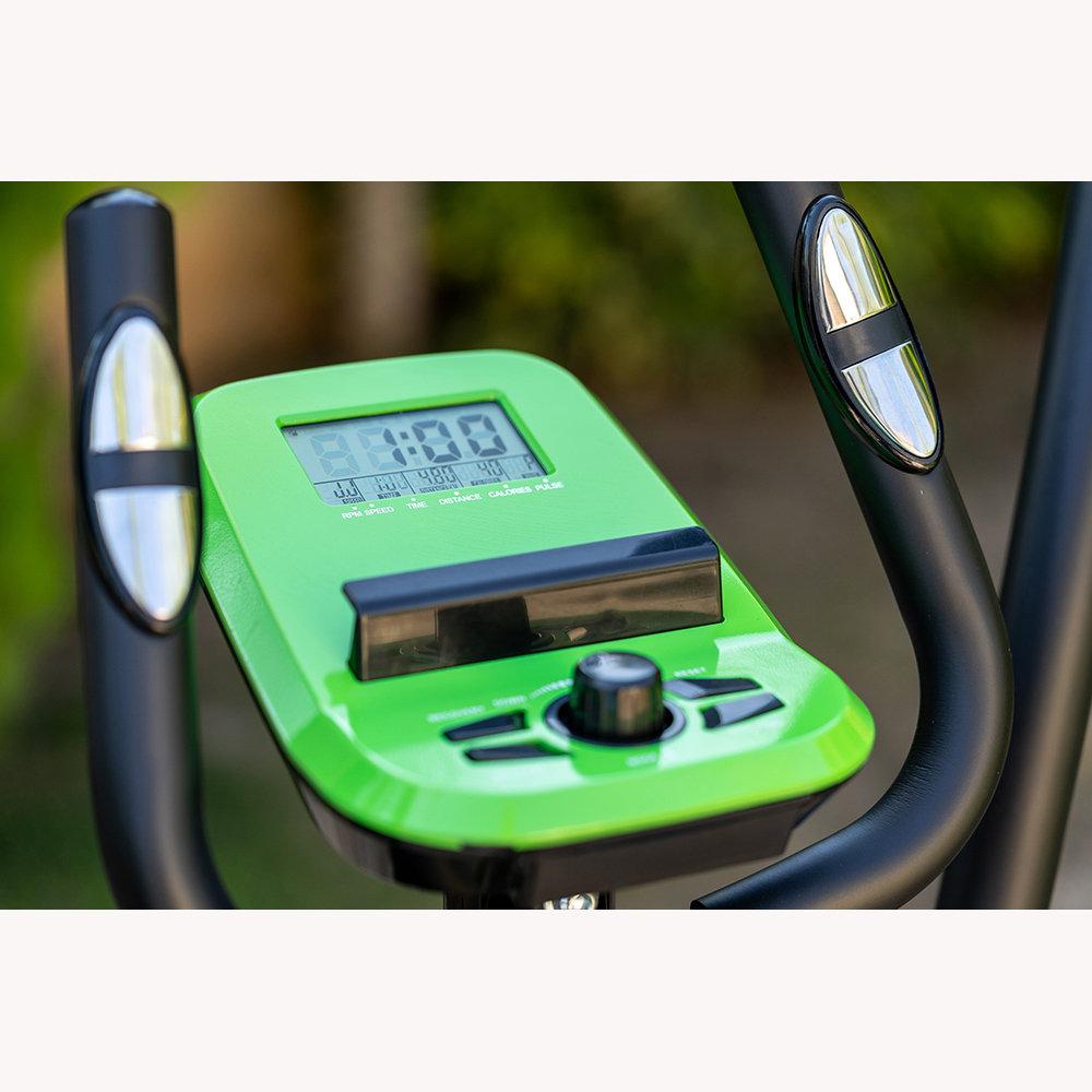 Eco 824 Eliptical Bike Bicicletta Ellittica Obiettivo Fitness
