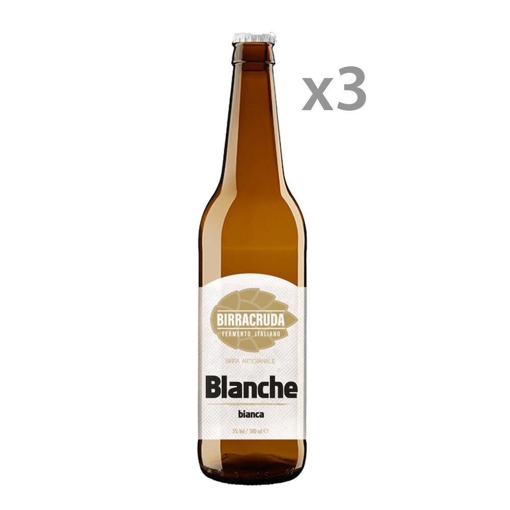3 bottiglie - Blanche 50 cl