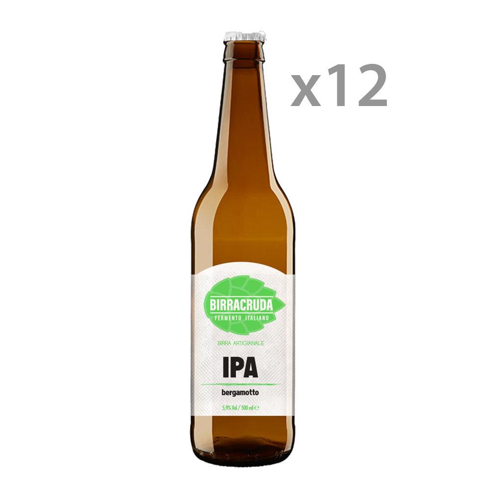12 bottiglie - IPA Begamotto 50 cl