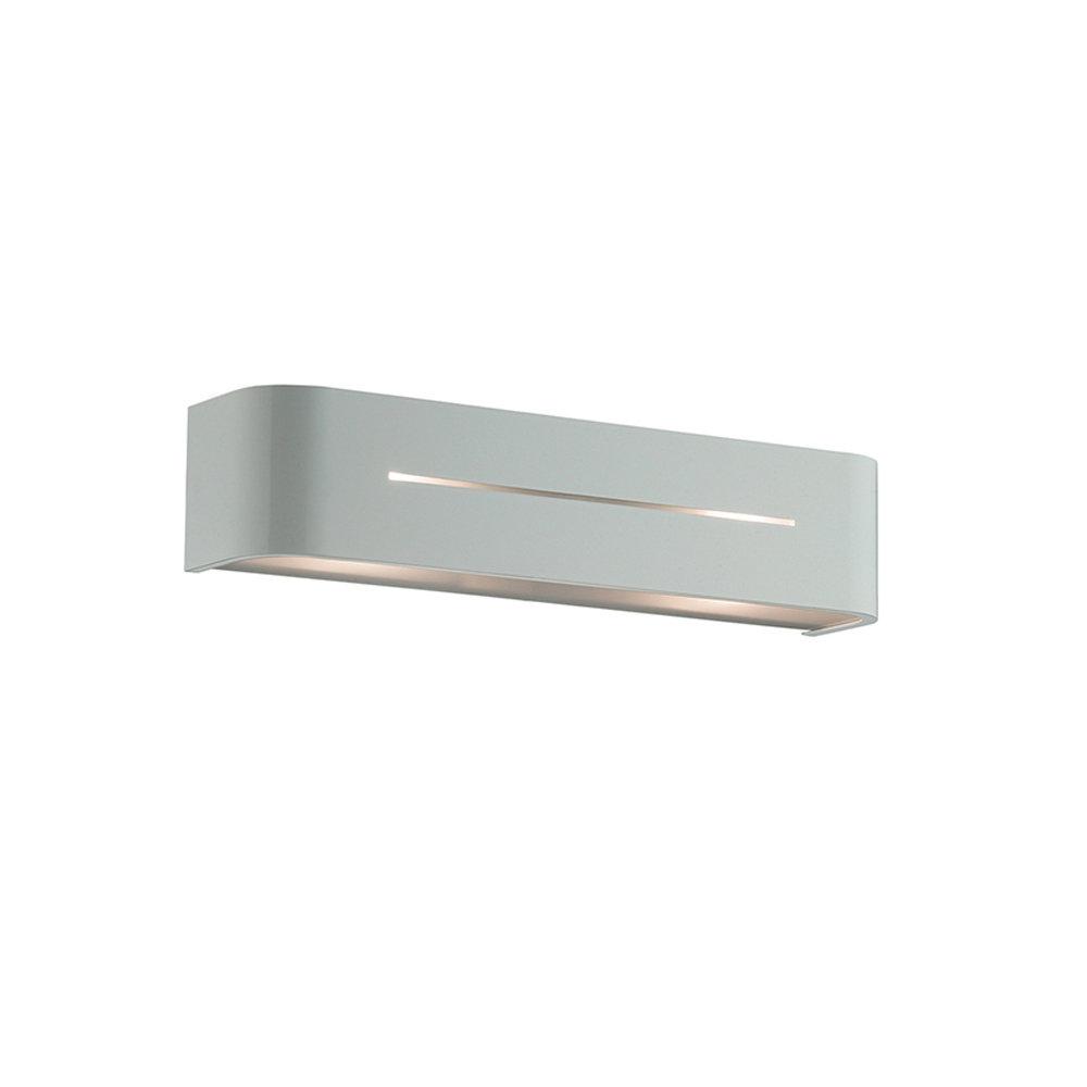 Lampada da parete grigio luci a parete acquista su for Luci parete