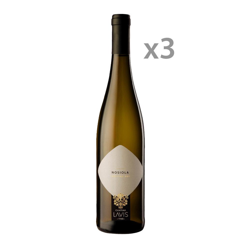 3 bottiglie - Nosiola Trentino DOC 2018