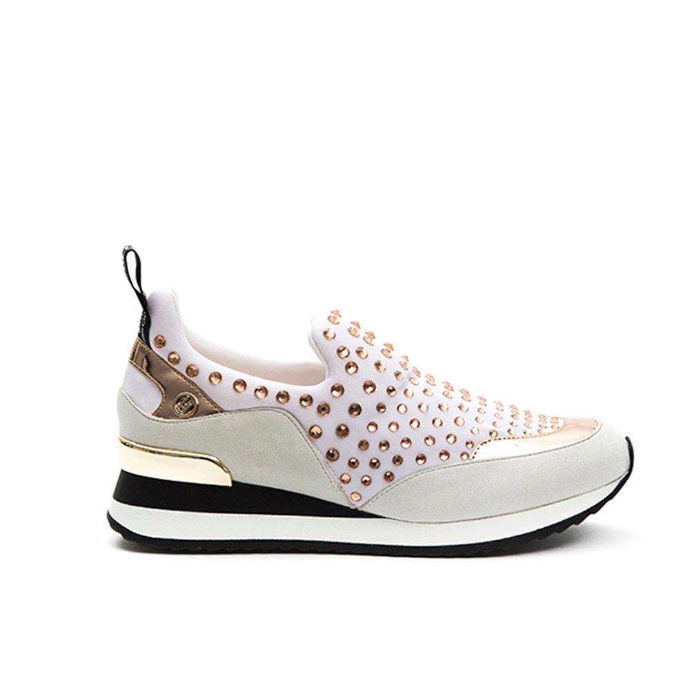sports shoes 010a8 87548 Slip-on con borchie bianche - Liu-Jo Scarpe - Acquista su Ventis.