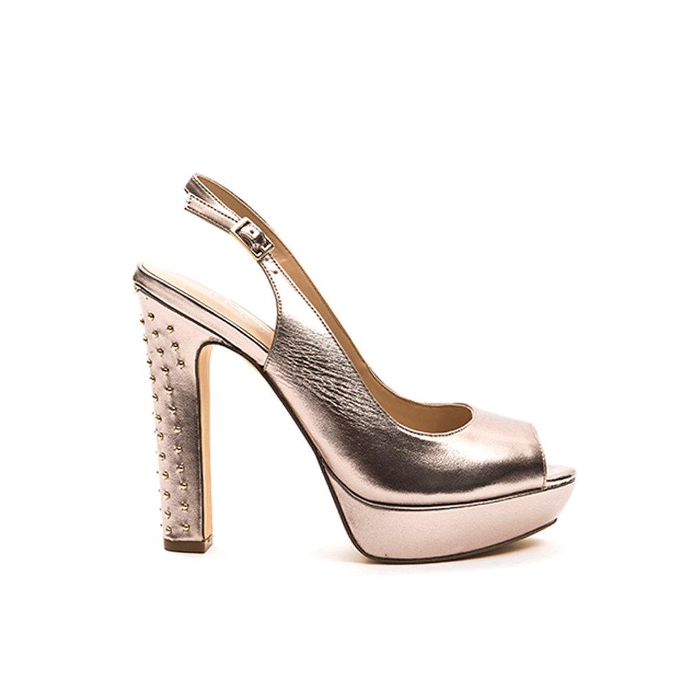 best loved a7258 96fa3 Sandali con tacco alto oro rosa - Liu-Jo Scarpe - Acquista su Ventis.
