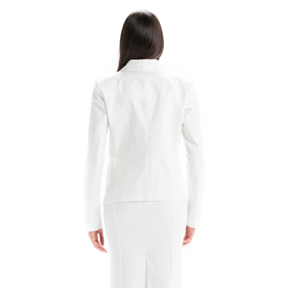 patrizia pepe giacca bianca