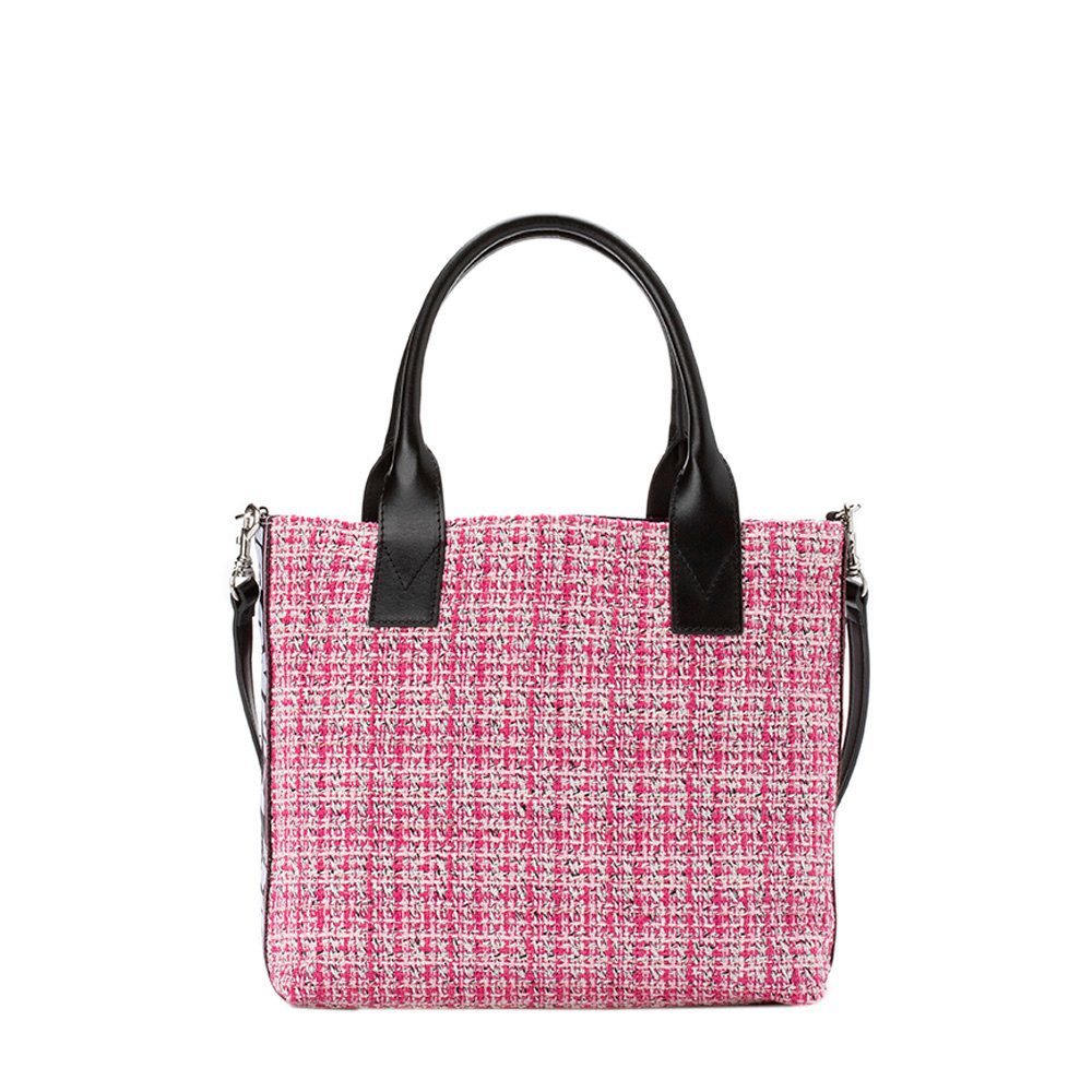 Borsa shopping piccola a fantasia tweed - Pinko - Acquista su Ventis. 76bfd62b6d5