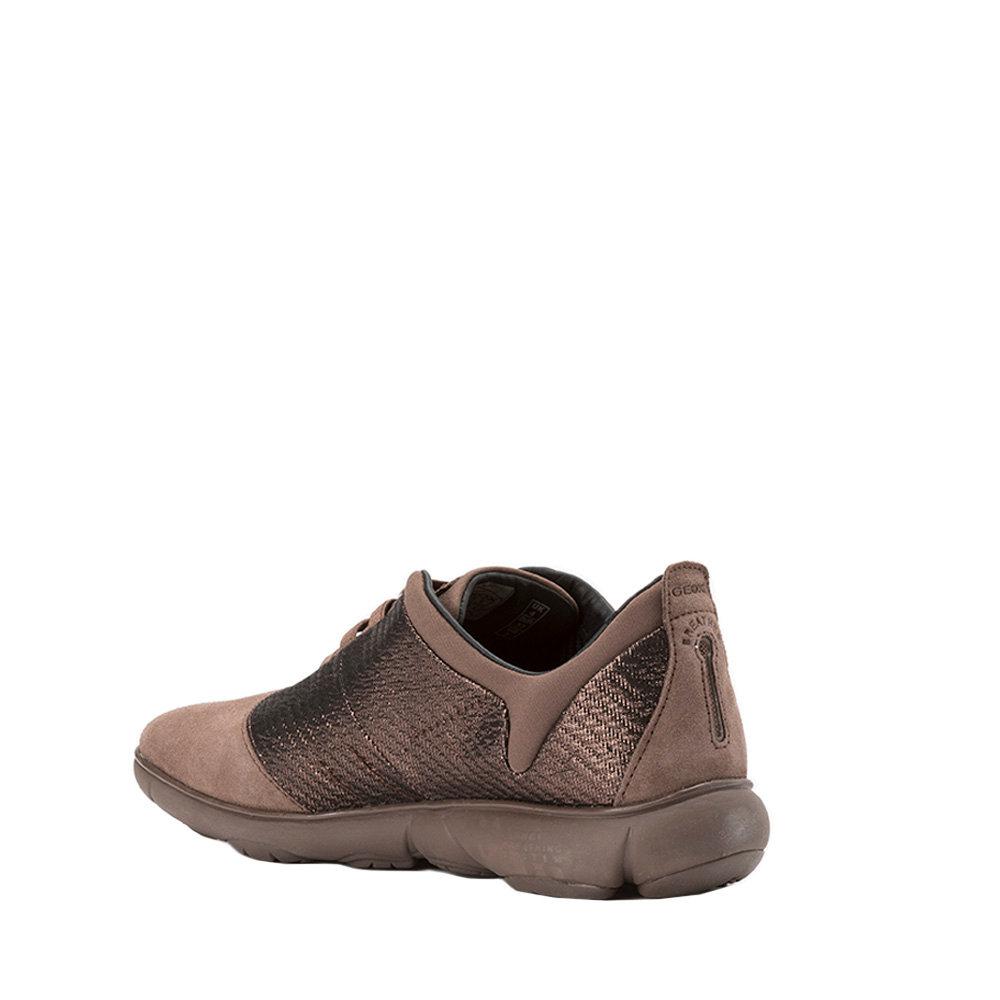 Sneakers donna ''Nebula C'' marroni GEOX SCARPE Acquista su Ventis.