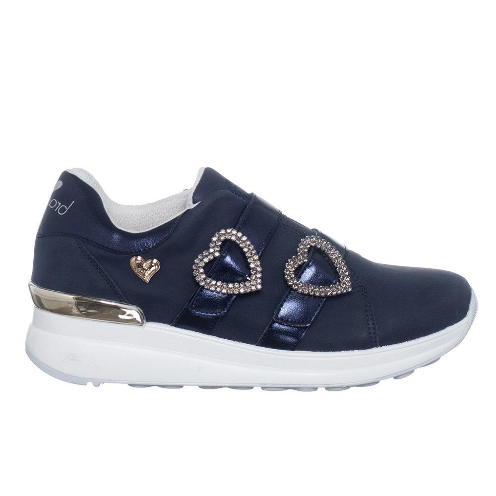Sneakers con dettagli colorati blu Braccialini Scarpe Acquista su Ventis.