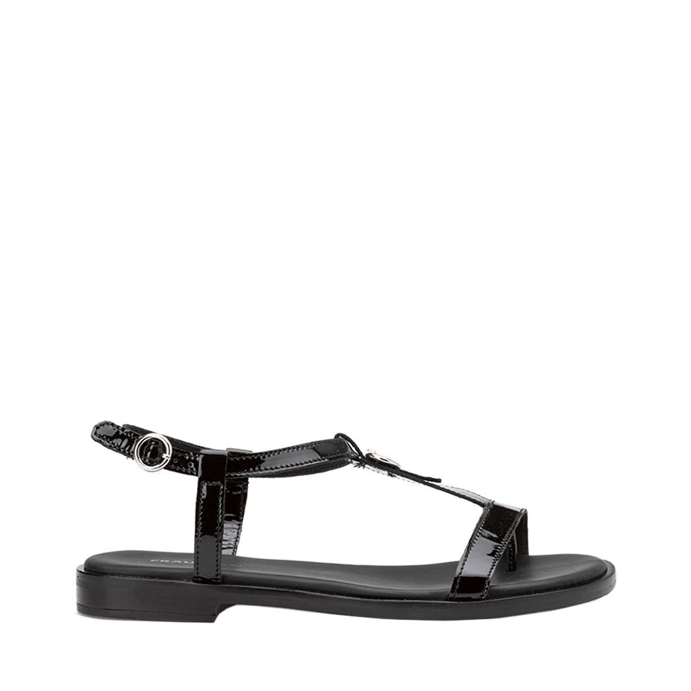design di qualità d24a5 e5782 Sandali bassi effetto vernice neri - FRAU - Acquista su Ventis.