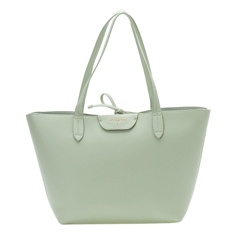 Bag Su Patrizia Acqua Reversibile Shopping Acquista Verde