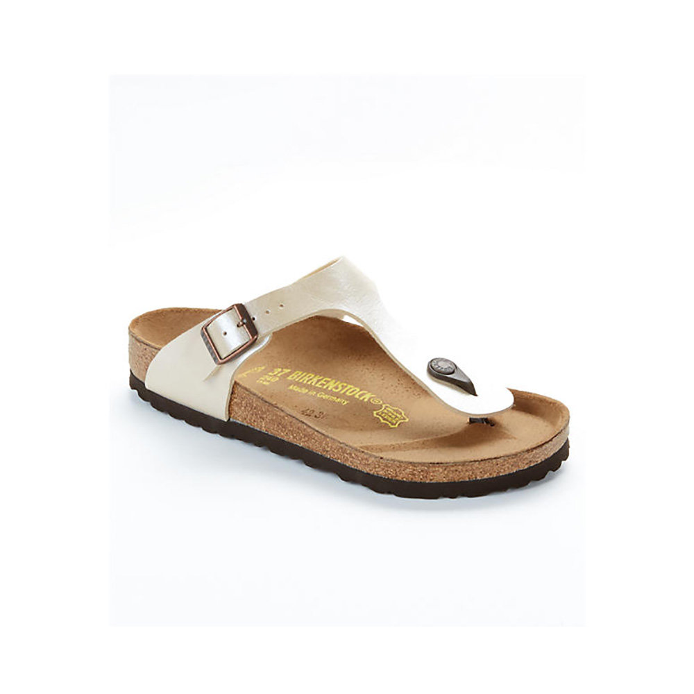 separation shoes 56fb5 1bb49 GIZEH Birko - Infradito donna bianco perla - Birkenstock - Acquista su  Ventis.