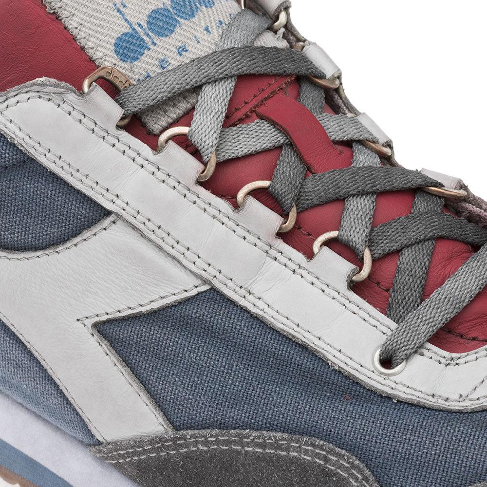 Sneakers Diadora da uomo ''Equipe H Dirty Stone Wash Evo'' blu Diadora Heritage Acquista su Ventis.