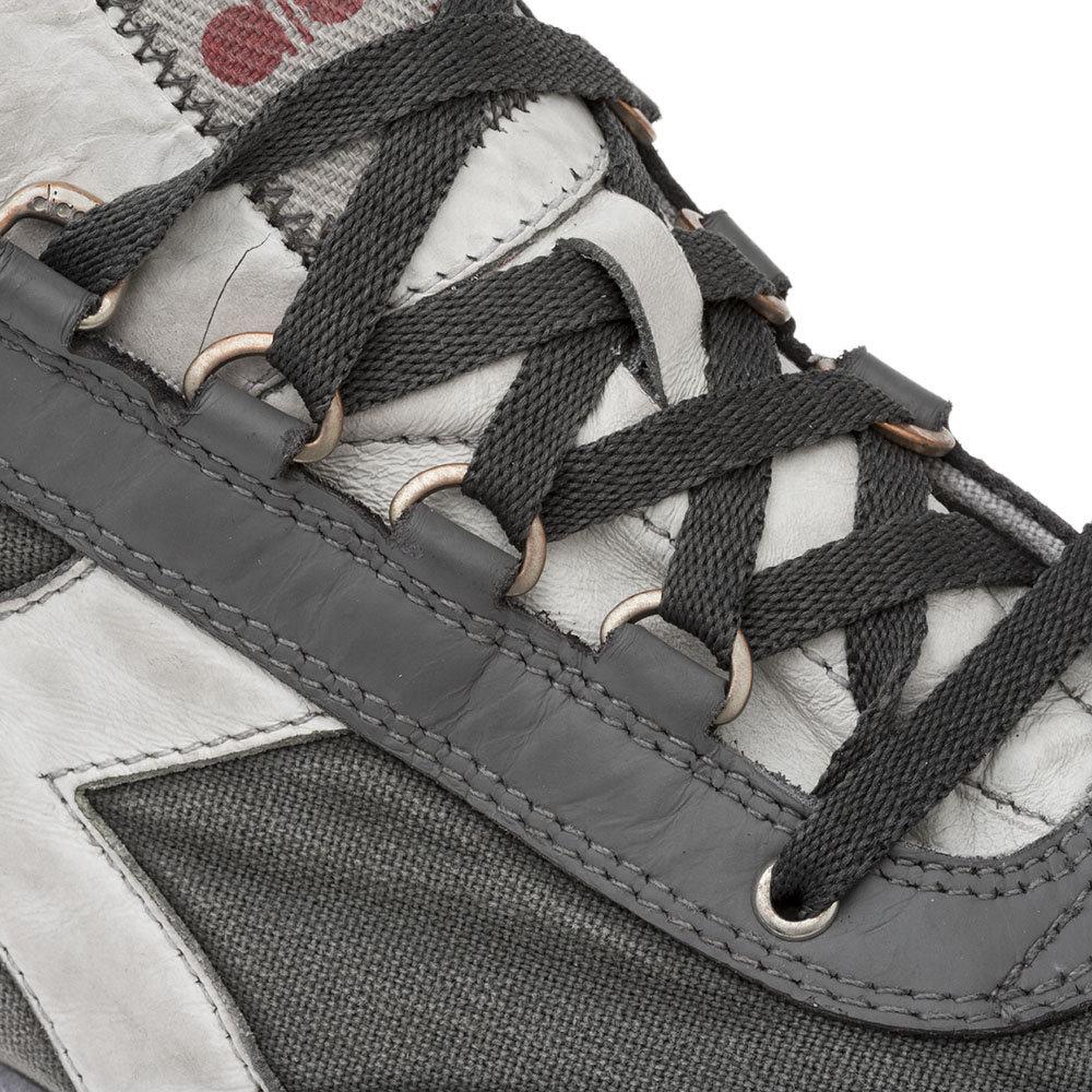 Sneakers Diadora da uomo ''Equipe H Dirty Stone Wash Evo'' grigie Diadora Heritage Acquista su Ventis.