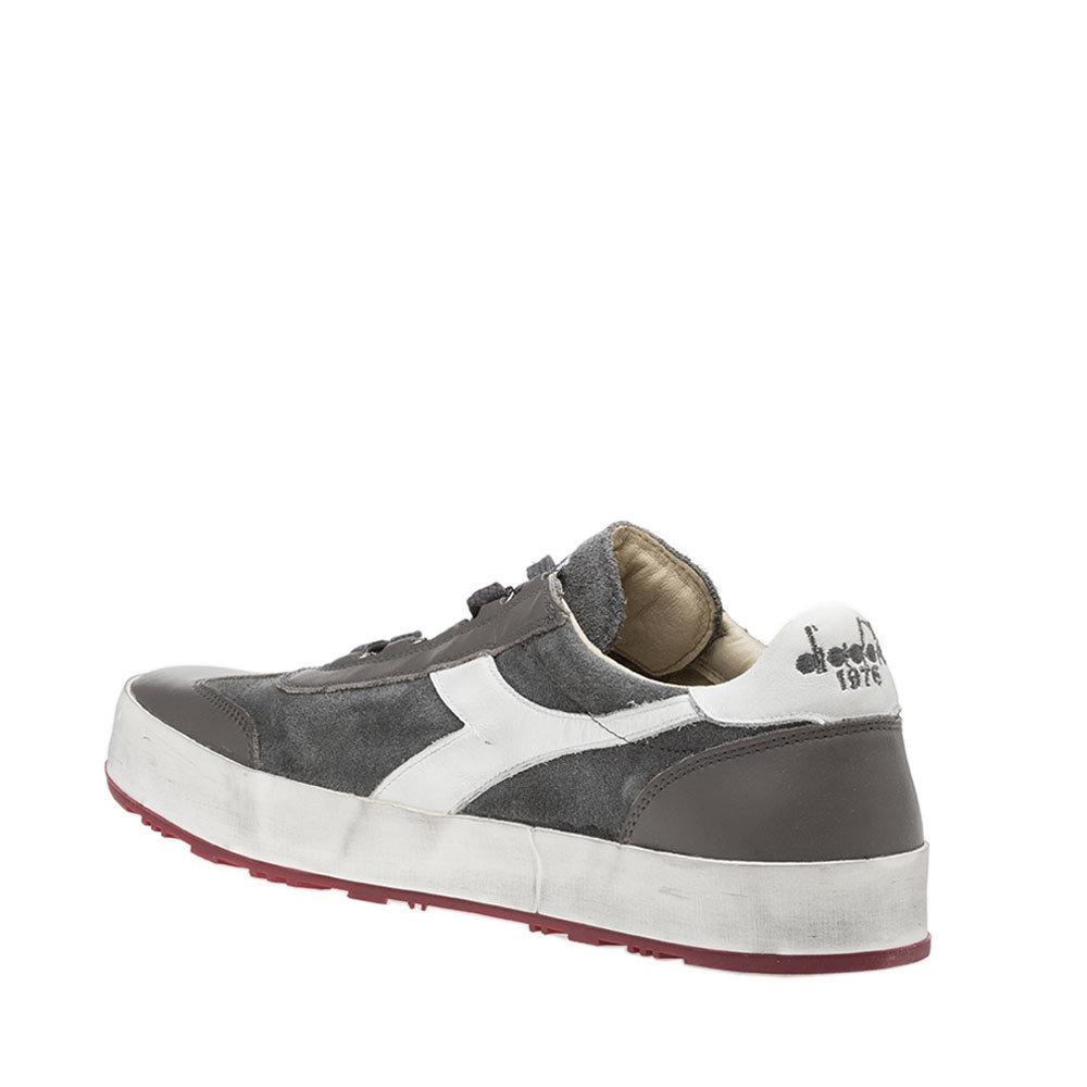 Sneakers Diadora da uomo ''B. Original H Suede Stone Wash'' bianche e rosse Diadora Heritage Acquista su Ventis.