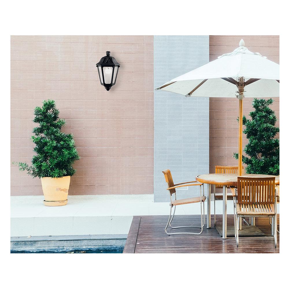 Lampada da parete outdoor come arredare il tuo balcone for Parete da arredare