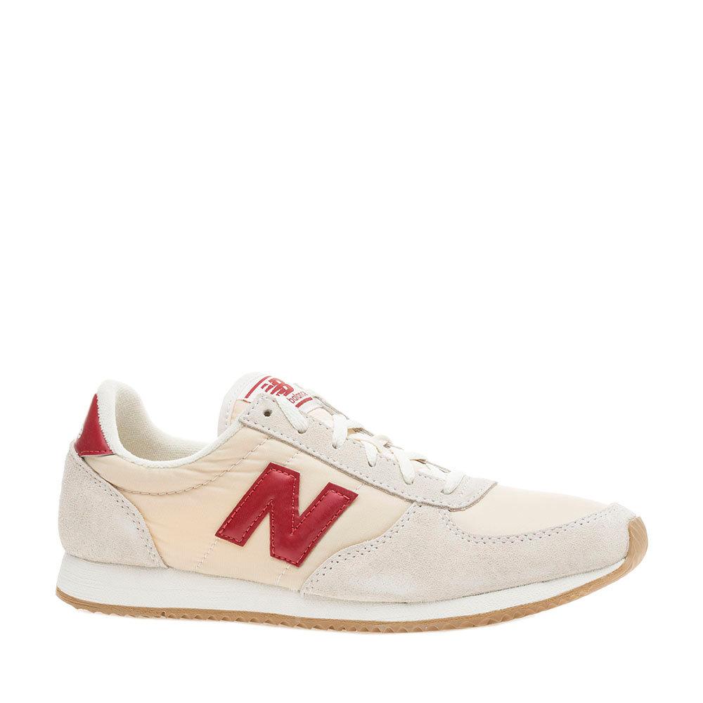 Sneakers New Balance donna scamosciate ghiaccio e beige