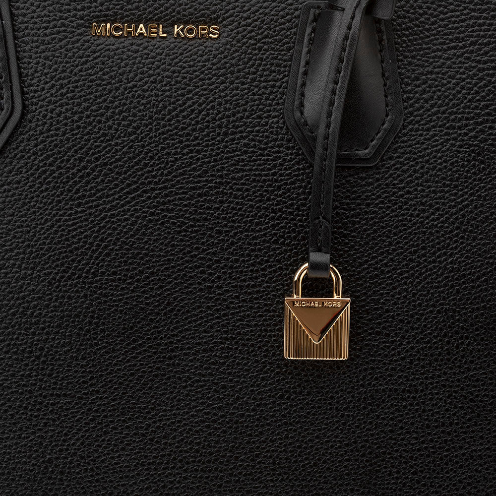 Borsa a mano tote 'Mercer' grande nera Michael Kors Acquista su Ventis.