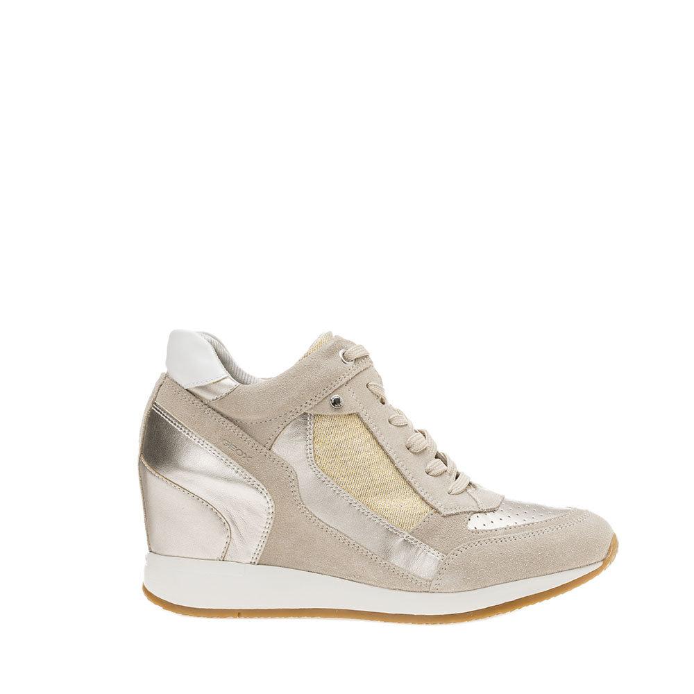 Sneaker donna ''Nydame A'' con zeppa GEOX SCARPE Acquista su Ventis.
