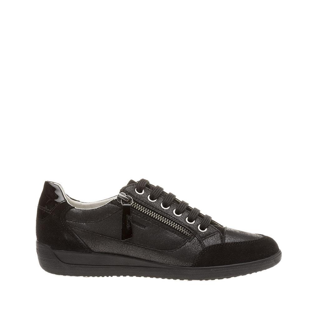 Sneakers con zip nere GEOX SCARPE Acquista su Ventis.