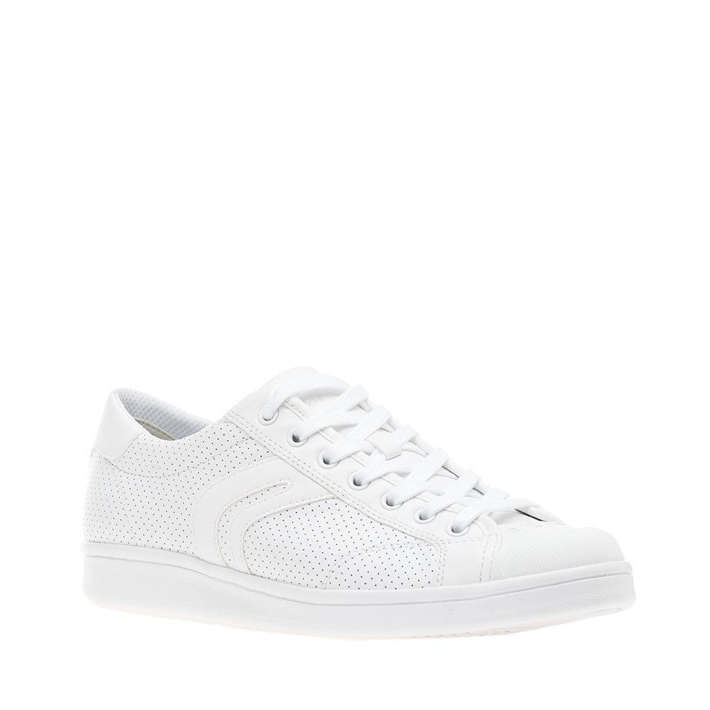Sneakers a tinta unita bianche GEOX SCARPE Acquista su Ventis.