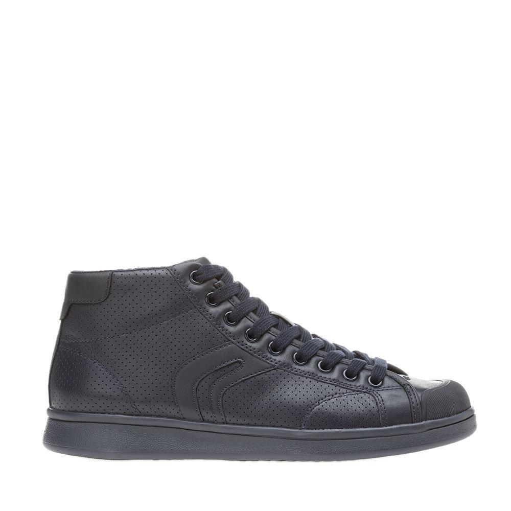 Sneakers alte a tinta unita blu scuro GEOX SCARPE Acquista su Ventis.