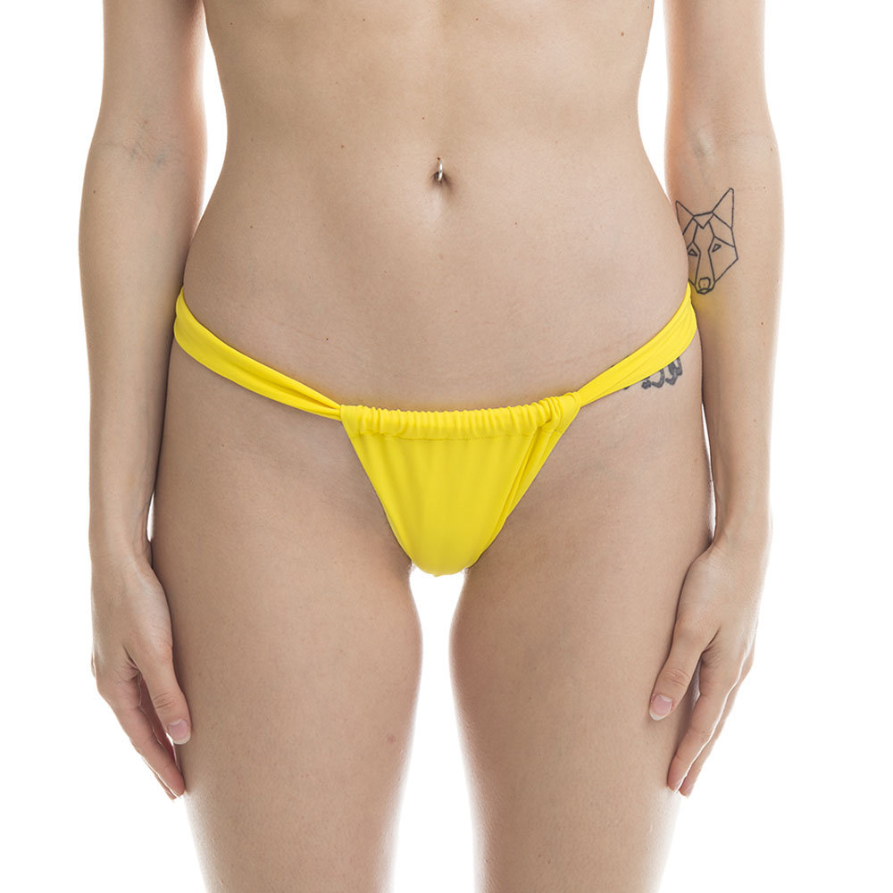 Image of Monokini 4GIVENESS regolabile giallo