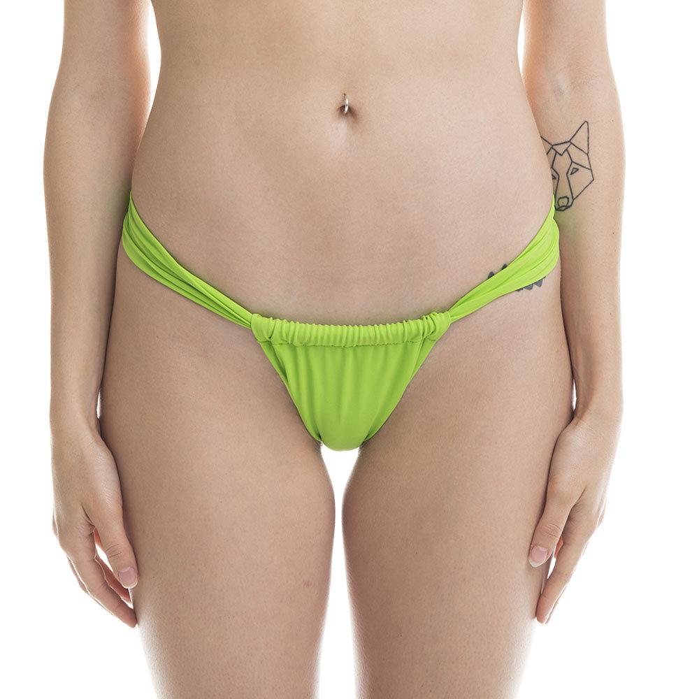 Image of Monokini 4GIVENESS regolabile verde acido