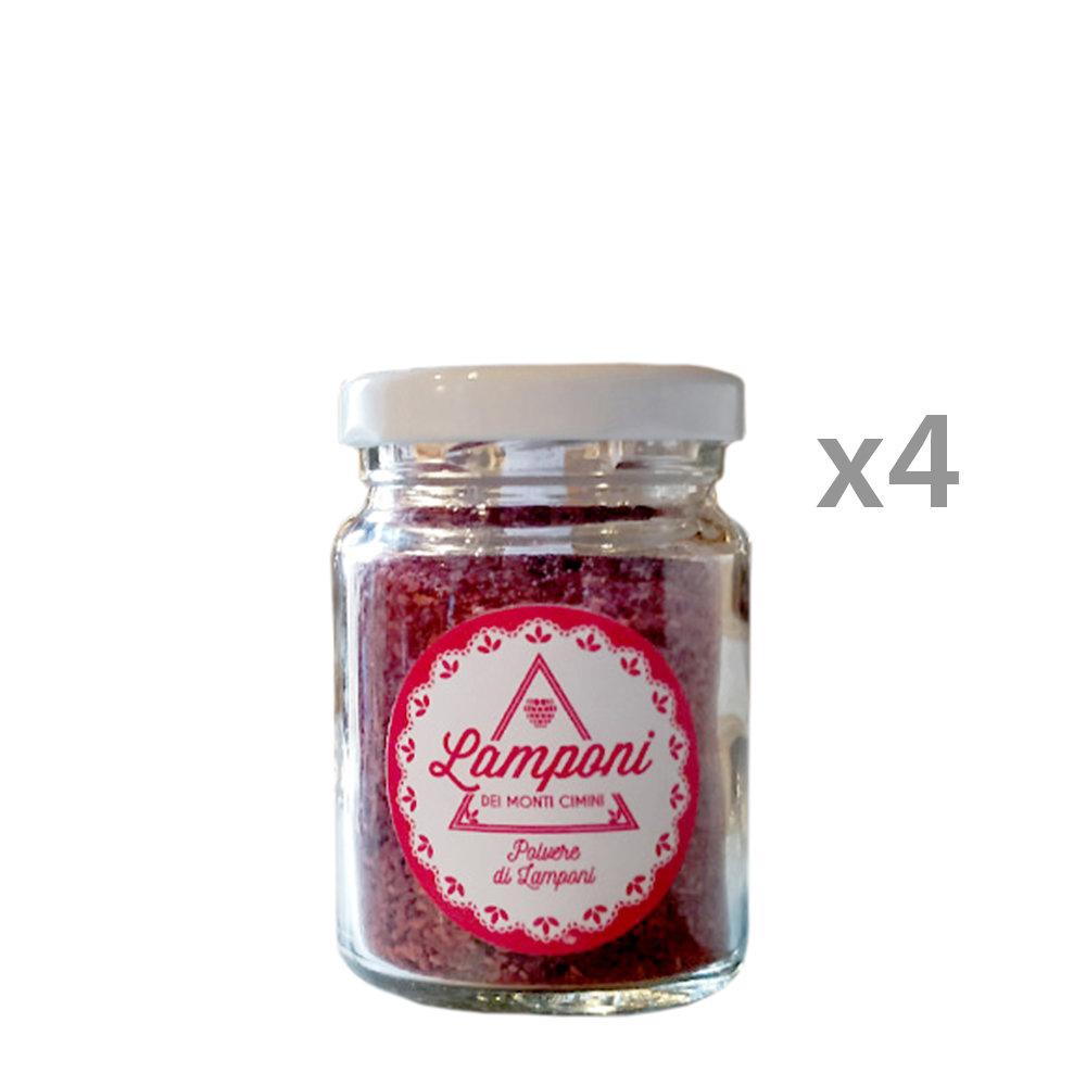 Coltivare Lamponi In Vaso 4 vasi - polvere di lamponi 20 gr - lamponi dei monti cimini - acquista su  ventis.