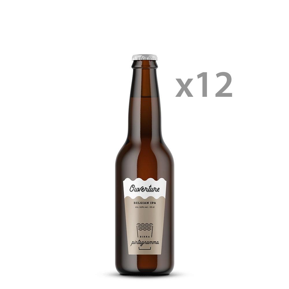 12 bottiglie - ''Overture'' Belgian IPA 33 cl