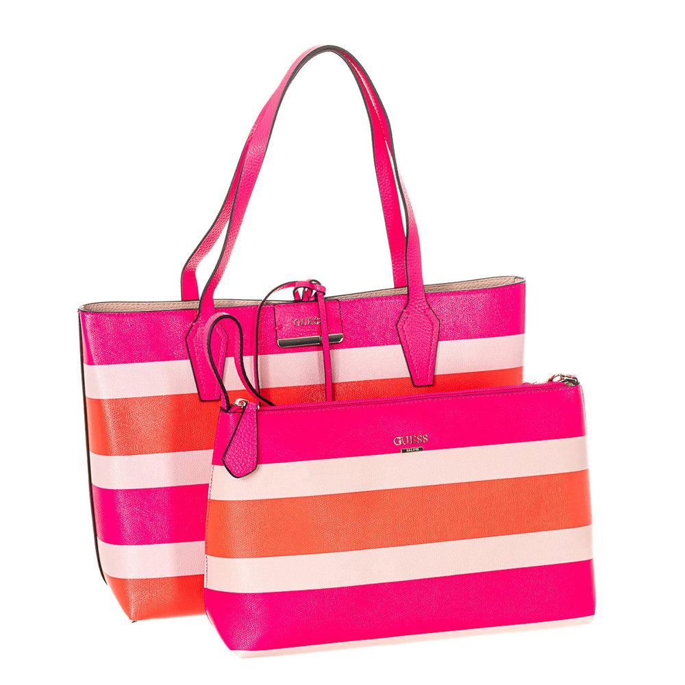 Ventis Acquista Guess Shopping A Borse Ai Reversibile Su Righe Bag bvf7ygY6