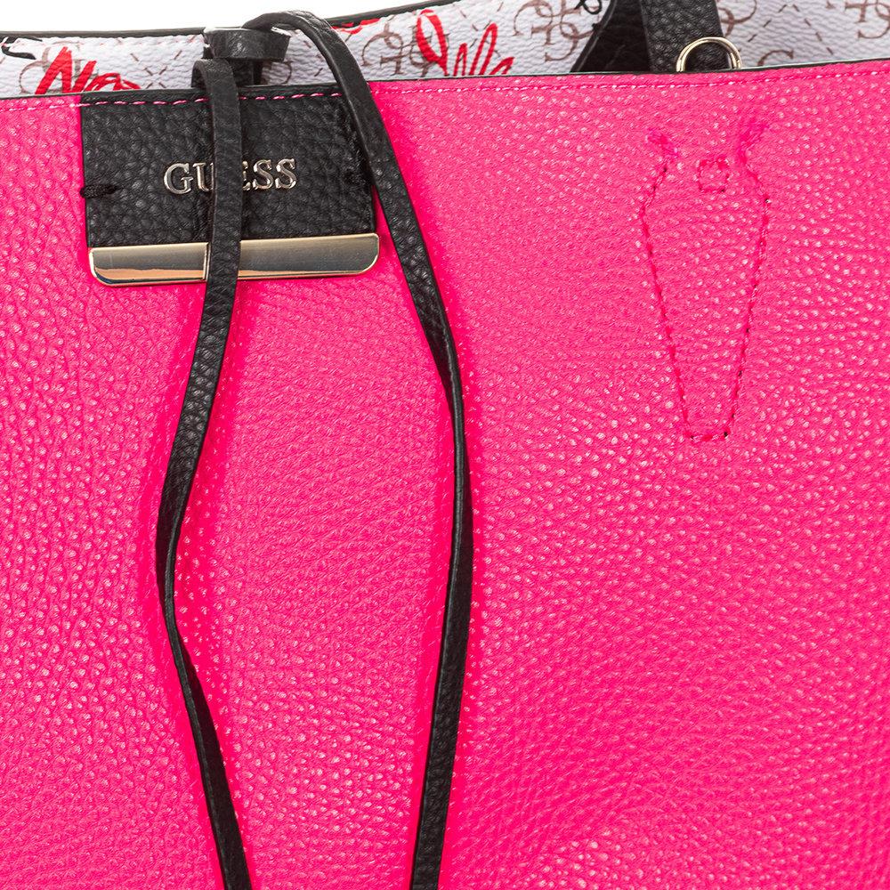 Shopping bag reversibile rosa e bianca Guess Borse AI Acquista su Ventis.