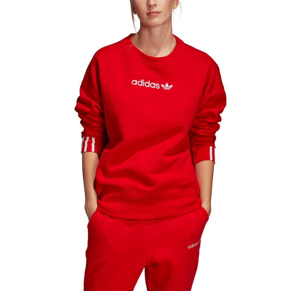 adidas felpa rossa