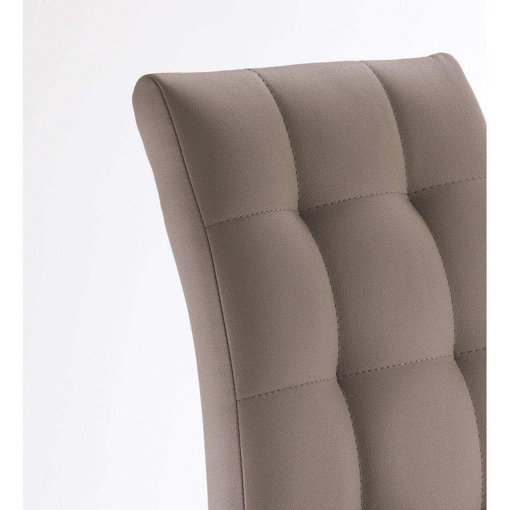 Set 4 sedie COZY, tortora - Ufficio by Tomasucci