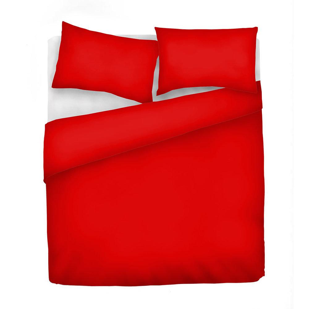 Copripiumino Rosso Matrimoniale.Parure Copripiumino Elegant Matrimoniale Rosso Poesia Per Ogni